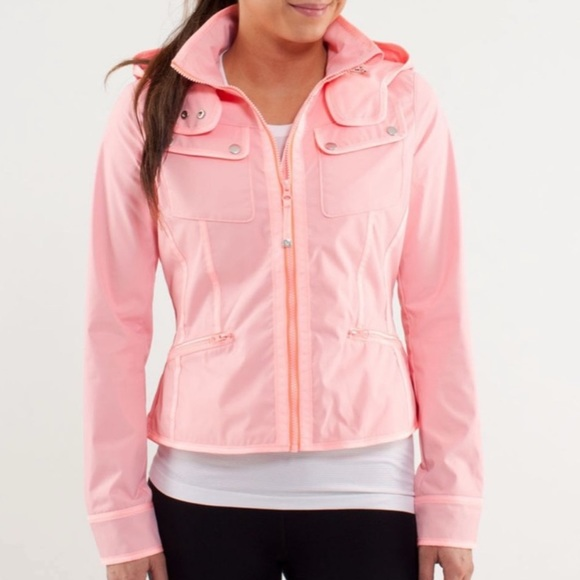 Out and About Lululemon Rare Rain Jacket